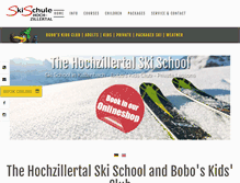 Tablet Preview of hochzillertal.at